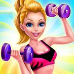 Fitness Girl Dress Up