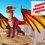 Monster Dragon City Destroyer