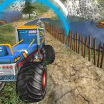 Monster Truck Offroad Driving Mountain